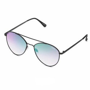 Quay Australia Accessories - QUAY Sunglasses DRAGONFLY Black/Pink +Bag Aviator